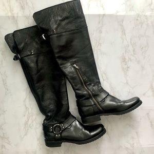 Frye Veronica Harness Over-the-Knee Boots